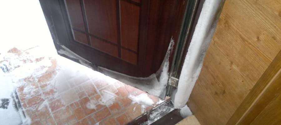 Почему на двери образуется конденсат – причины и способы борьбы